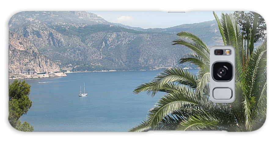 Mediterranean Sea Galaxy S8 Case featuring the photograph Cap Ferrat by Christiane Schulze Art And Photography