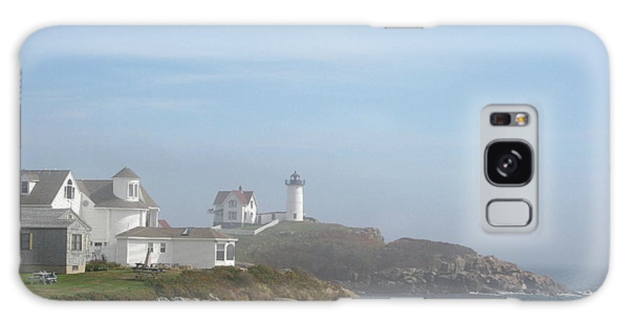 Lighthouse Galaxy S8 Case featuring the photograph Cape Neddick Lighthouse IIi by Christiane Schulze Art And Photography