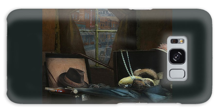 Al Capone Galaxy S8 Case featuring the photograph Capone - Revised by Jeff Burgess