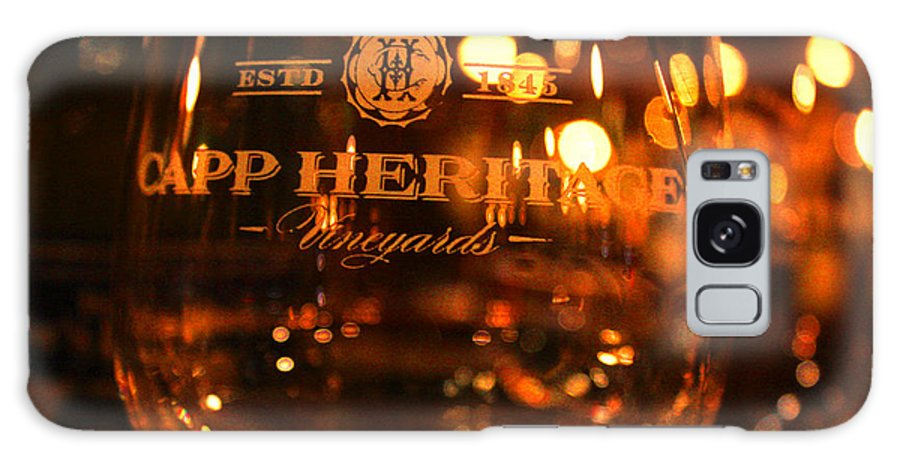 Wine Artist Galaxy S8 Case featuring the photograph Capp Heritage 3 by Penelope Moore