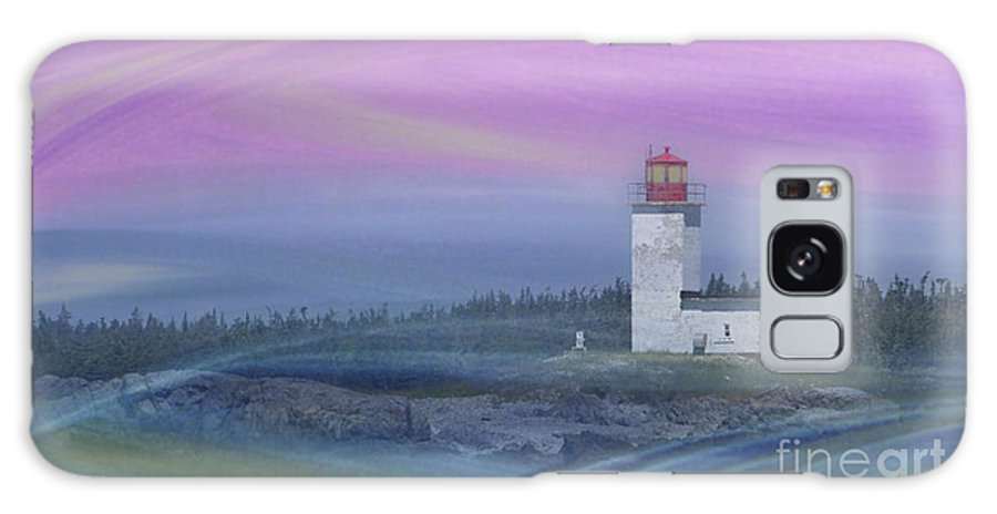 Festblues Galaxy S8 Case featuring the photograph Capricious Lighthouse... by Nina Stavlund