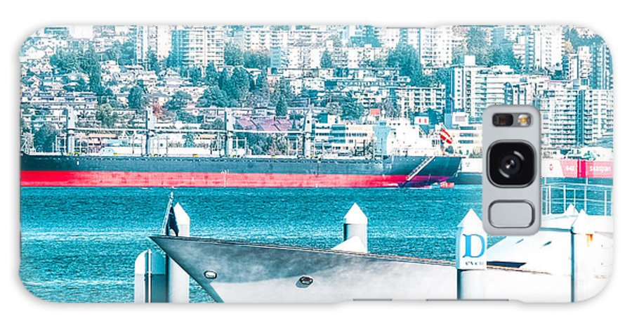 Ships Harbour Galaxy S8 Case featuring the photograph Cardero-64-jpg by David Fabian