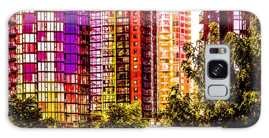 Urban Abstract Galaxy S8 Case featuring the photograph Cardero-72-jpg by David Fabian