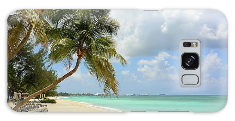 Scenics Galaxy Case featuring the photograph Caribbean Dream Beach by Shunyufan