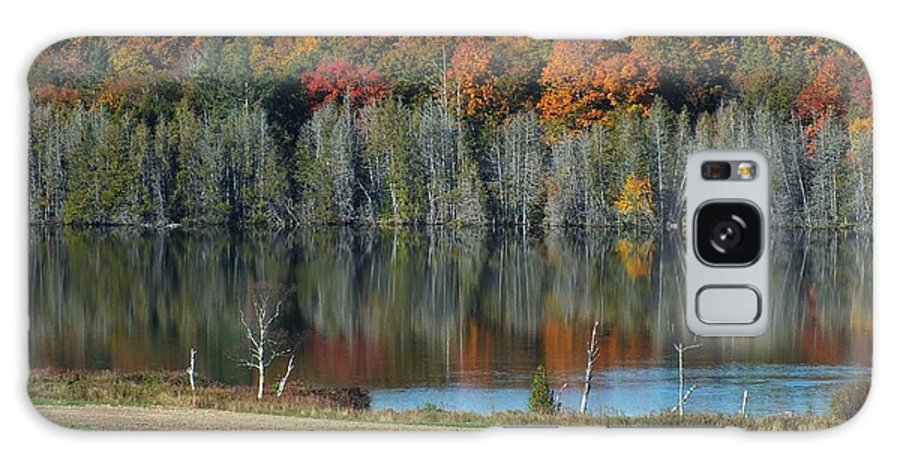 New England Galaxy S8 Case featuring the photograph Caribou Lake Reflected by Gene Cyr