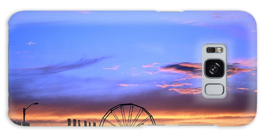 Carnival Galaxy S8 Case featuring the photograph Carnival Sunset by Chris Carswell