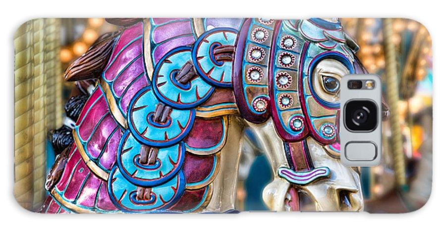 Carousel Horse Galaxy S8 Case featuring the photograph Carousel Horse by Mimi Ditchie