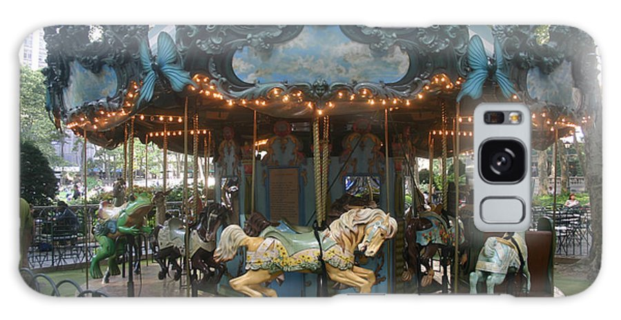 Carousel Galaxy S8 Case featuring the photograph Carousel by Rick De Wolfe