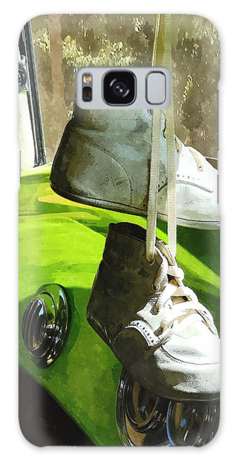 Car Galaxy S8 Case featuring the photograph Cars - Baby Shoes by Susan Savad