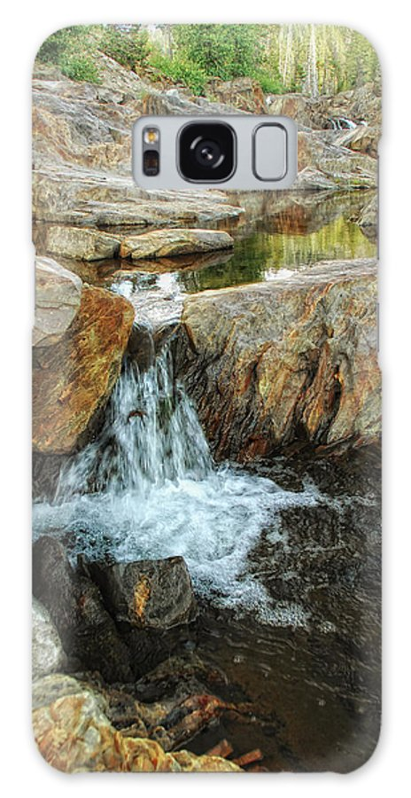 Yuba River Galaxy S8 Case featuring the photograph Cascading Downward by Donna Blackhall