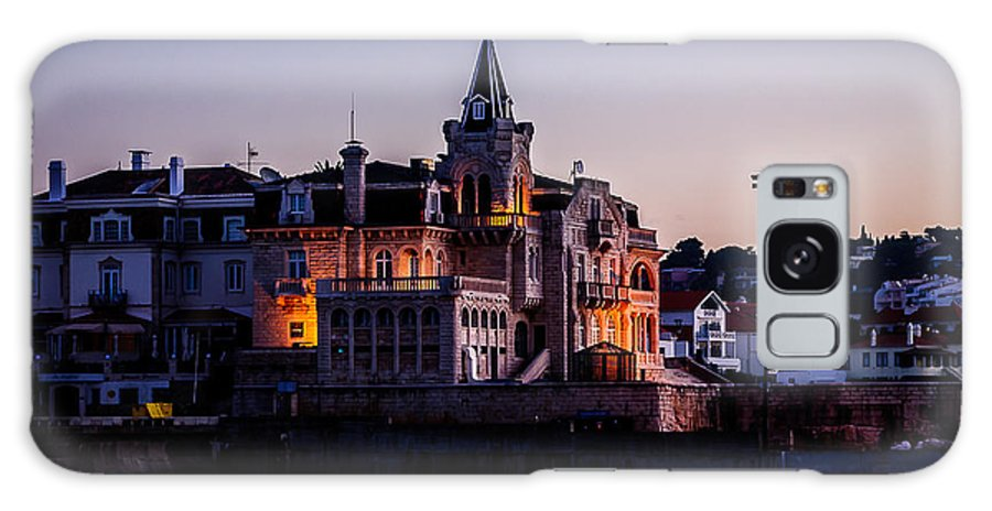 Portugal Galaxy S8 Case featuring the photograph Cascais At Dusk by David McAlpine