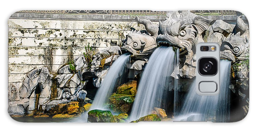 Fountain Galaxy S8 Case featuring the photograph Caserta Palace Fountain 1 by David McAlpine