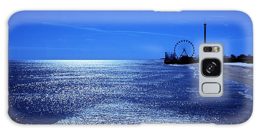 Casion Pier Galaxy S8 Case featuring the photograph Casino Pier Seaside Heights by James Trevenen