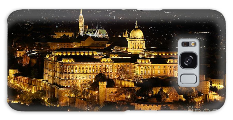 Castle Galaxy S8 Case featuring the photograph Castle Of Buda by Peter Gudella