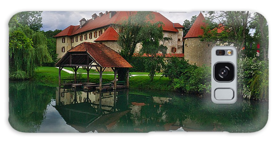 Slovenia Galaxy S8 Case featuring the photograph Castle Otocec by Ivan Slosar