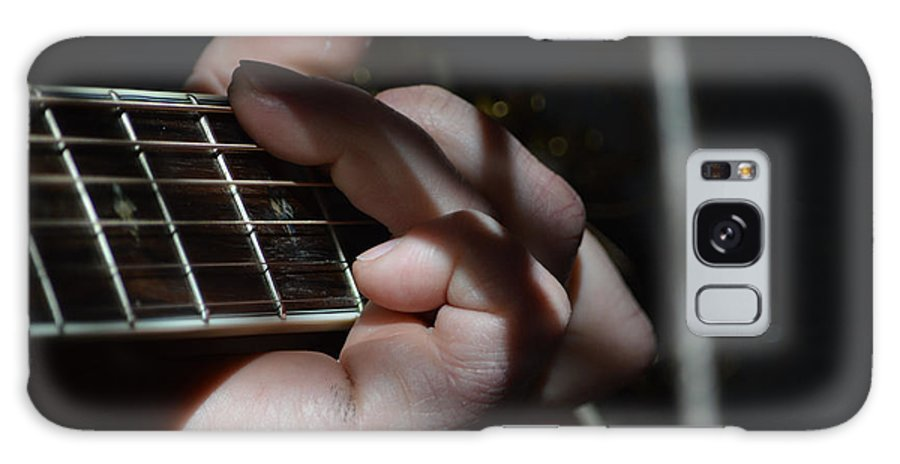 Musician Galaxy S8 Case featuring the photograph Catching The Light by Alys Caviness-Gober