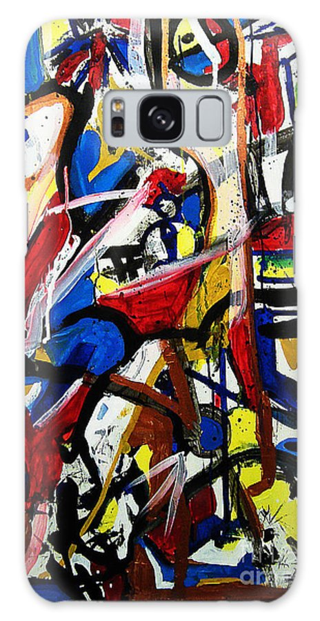 Painting Galaxy S8 Case featuring the painting Catharsis by Jeff Barrett