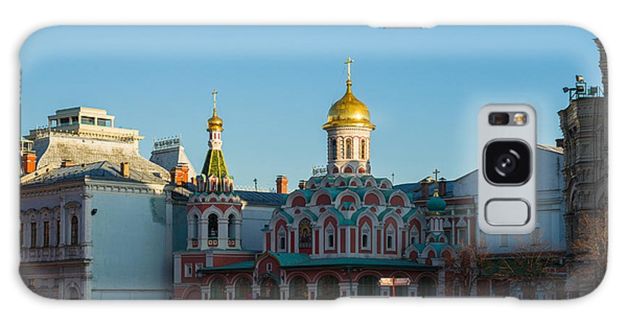 Architecture Galaxy S8 Case featuring the photograph Cathedral Of Our Lady Of Kazan by Alexander Senin