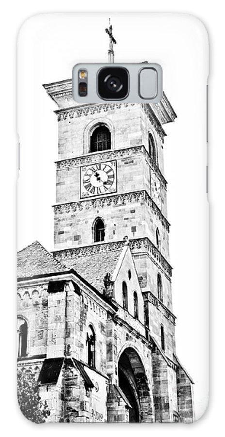 Alba Iulia Galaxy S8 Case featuring the photograph Catholic Cathedral In Alba Iulia by Gabriela Insuratelu
