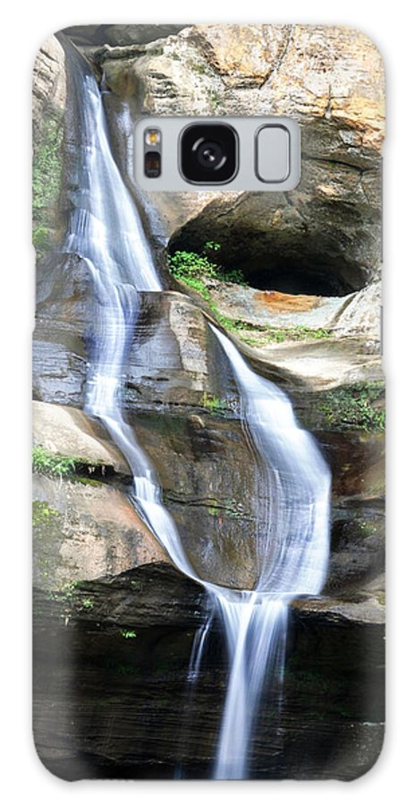 Optical Playground By Mp Ray Galaxy S8 Case featuring the photograph Cedar Falls II by Optical Playground By MP Ray