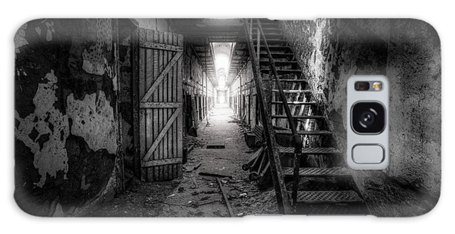 Historic Galaxy S8 Case featuring the photograph Cell Block - Historic Ruins - Penitentiary - Gary Heller by Gary Heller