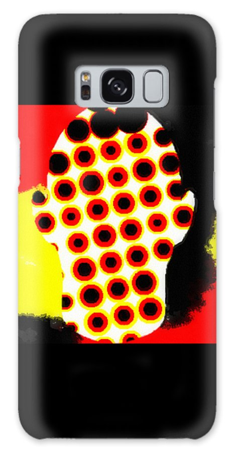 Cell Electrodes Galaxy Case featuring the digital art Cell Electrodes by Pharris Art