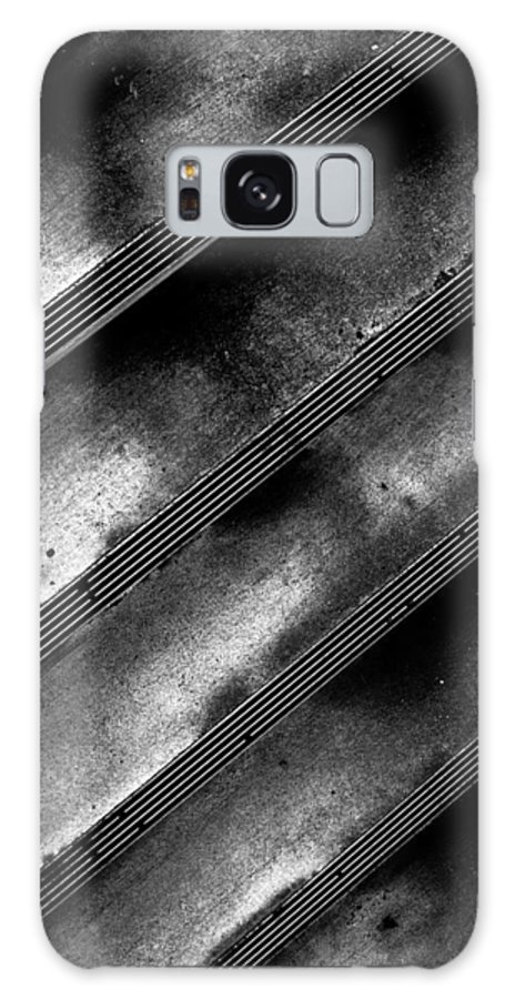 Step Galaxy S8 Case featuring the photograph Cement Steps Number Two by Bob Orsillo