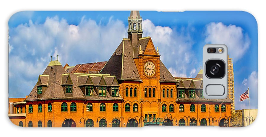 Central Galaxy S8 Case featuring the photograph Central Railroad Of New Jersey Terminal by Nick Zelinsky