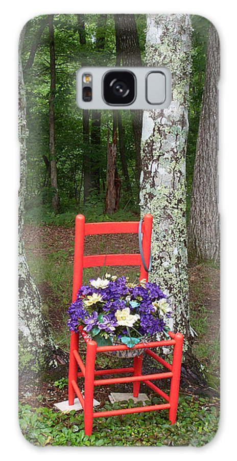 Chair Galaxy S8 Case featuring the photograph Chair Of The Grand Elf by Douglas Barnett