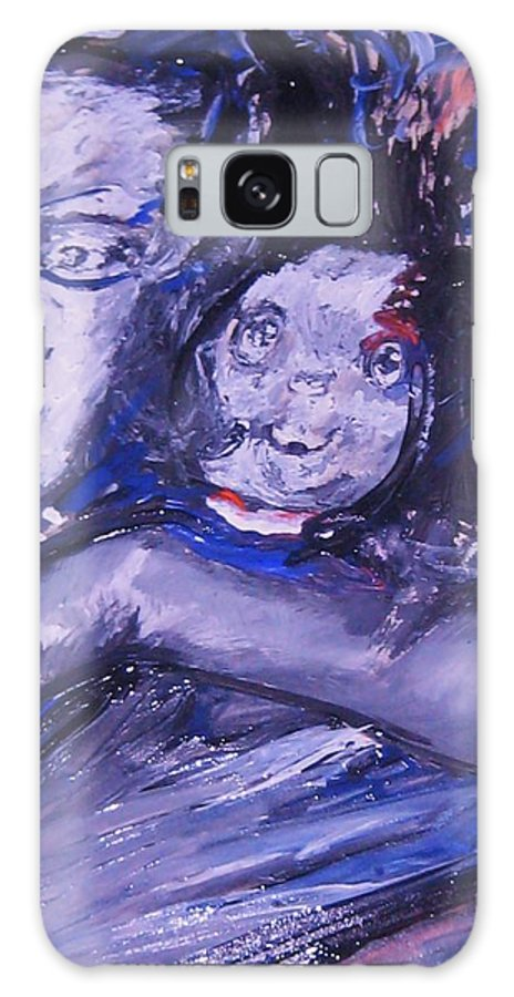 Portraits Galaxy S8 Case featuring the painting Changes by Dawn Fisher
