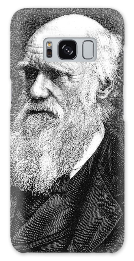 1885 Galaxy S8 Case featuring the photograph Charles Darwin by Collection Abecasis