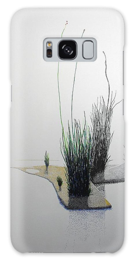 Landscape Galaxy Case featuring the painting Chasm by A Robert Malcom