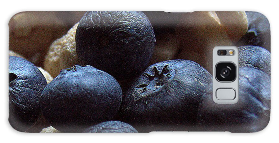 Cheerios Galaxy S8 Case featuring the photograph Cheerios And Blueberries by Steven Macanka