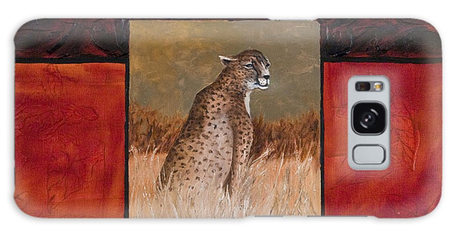 Animal Galaxy Case featuring the painting Cheetah by Darice Machel McGuire