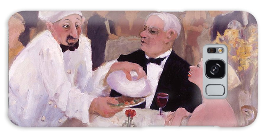 Chef Galaxy S8 Case featuring the painting Chefs Choice by Carole Katchen