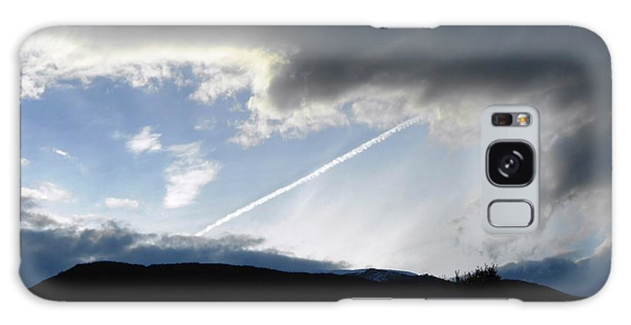 Chem-trail Galaxy S8 Case featuring the photograph Chem-trail by Andonis Katanos