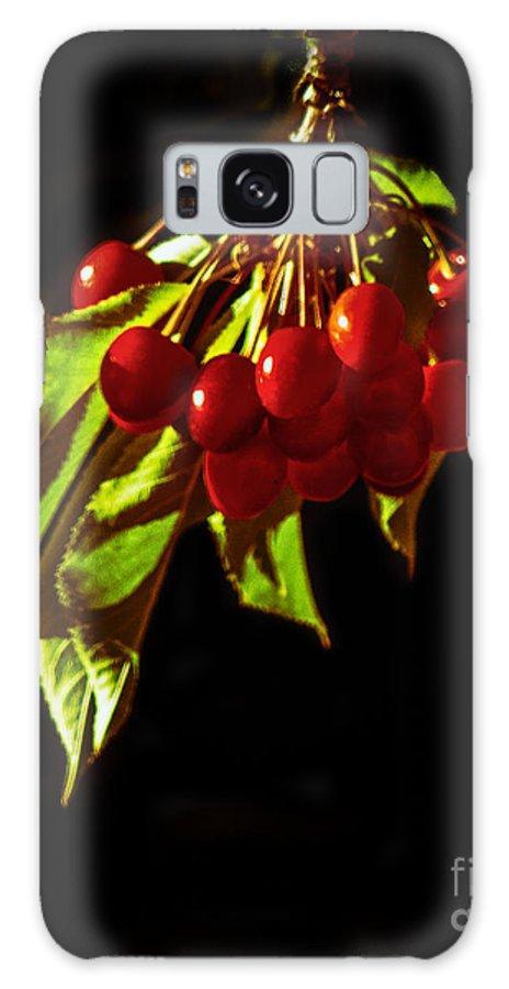 Prunus Avium Galaxy S8 Case featuring the photograph Cherries by Robert Bales