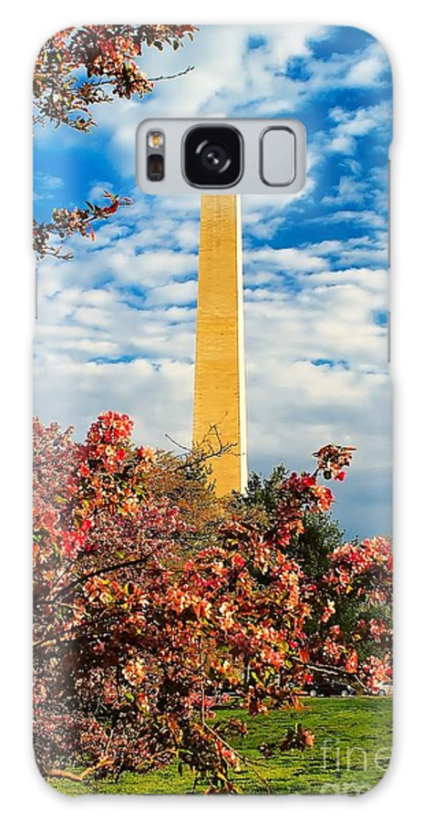 Washington Galaxy S8 Case featuring the photograph Cherry Blossoms In Washington by Nick Zelinsky