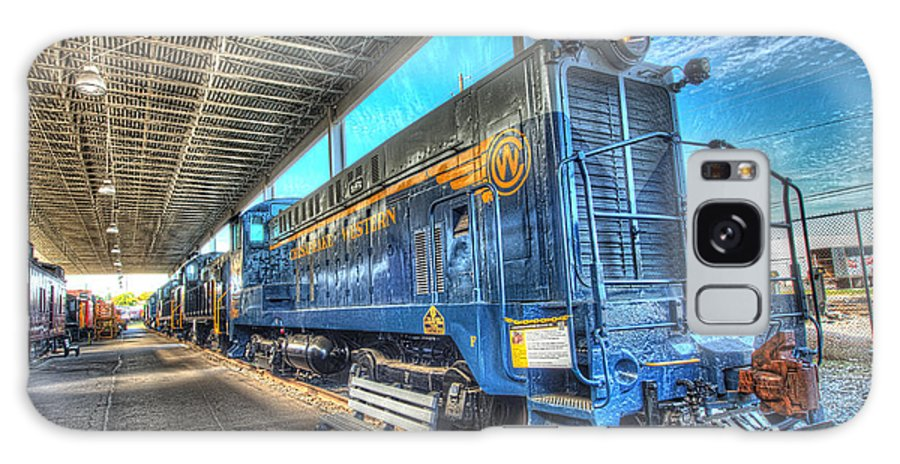 Historic Galaxy S8 Case featuring the photograph Chesapeake Western Baldwin Ds-4-4-660 No 662 by Greg Hager
