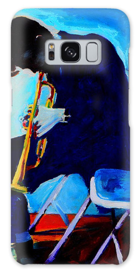 Blues Galaxy S8 Case featuring the painting Chet Baker by Vel Verrept