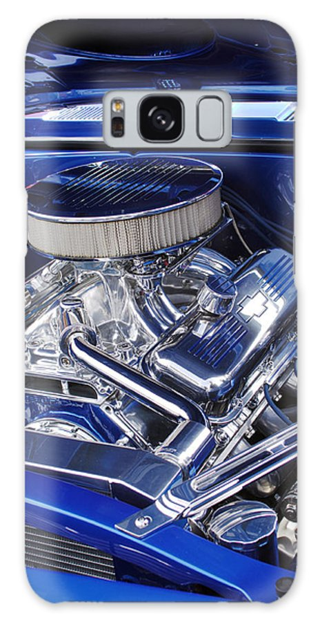 Chevrolet Galaxy S8 Case featuring the photograph Chevrolet Hotrod Engine by Jill Reger
