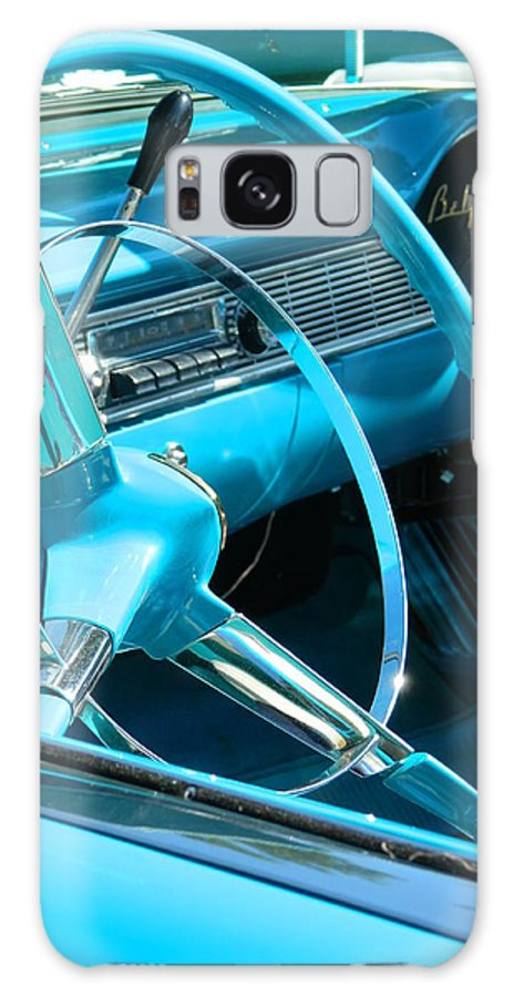 Bel Air Galaxy S8 Case featuring the photograph Chevy Bel Air Interior by Nicki Bennett