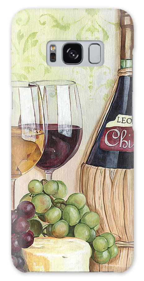 Wine Galaxy Case featuring the painting Chianti and Friends by Debbie DeWitt