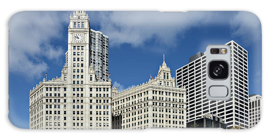 Chicago Galaxy S8 Case featuring the photograph Chicago - Wrigley Building by Christine Till