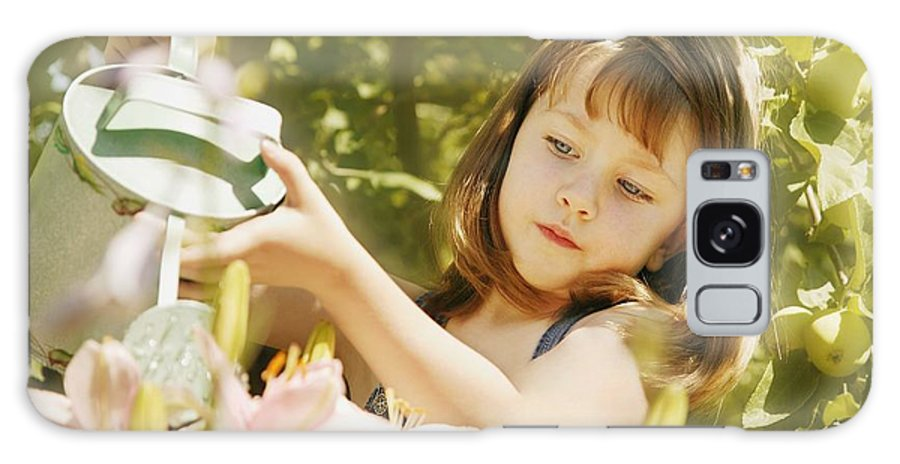 Outdoors Galaxy S8 Case featuring the photograph Child Waters Flowers by Don Hammond