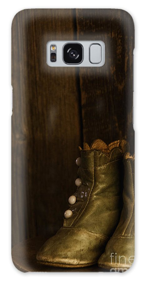 Vintage Galaxy S8 Case featuring the photograph Children's Boots by Margie Hurwich