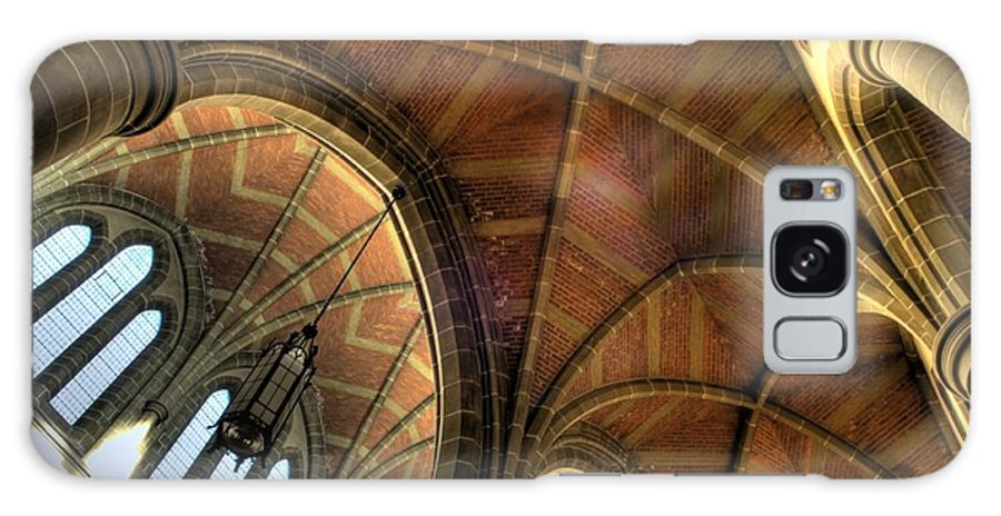 Cathedral Galaxy S8 Case featuring the photograph Christ Church Cathedral Roof Detail by Bob Christopher