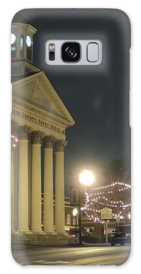 Outdoors Galaxy S8 Case featuring the photograph Christmas In Uptown Lexington 1 by Matt Taylor