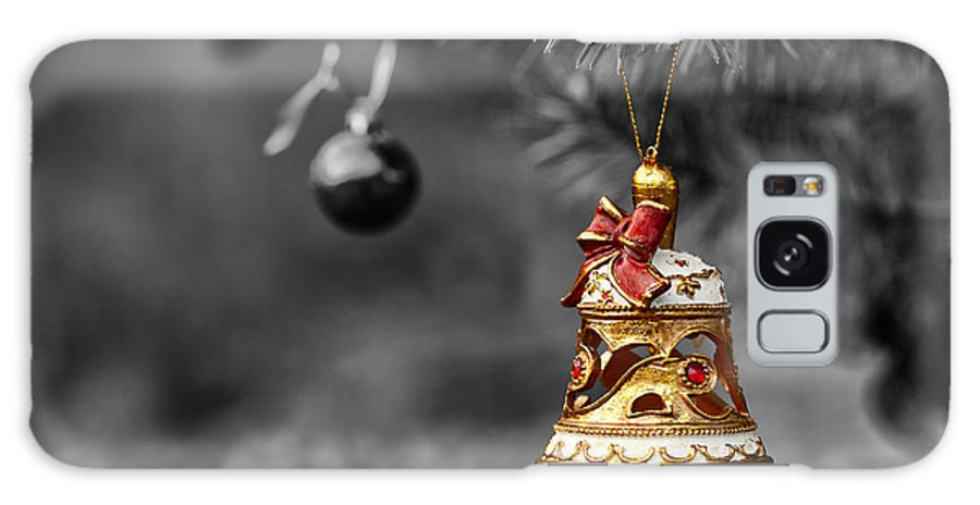 Ornament Galaxy S8 Case featuring the photograph Christmas Tree Ornament by Mary Smyth