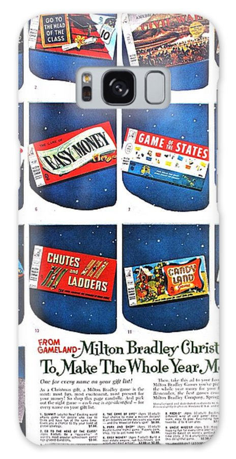 Vintage Galaxy S8 Case featuring the photograph Christmas Wish List 1960 by Benjamin Yeager